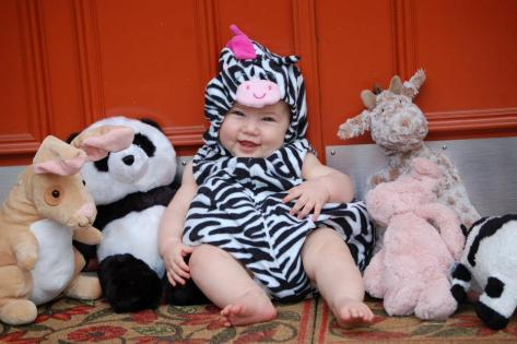 Ella Kate's first Halloween - Photo cred. Sophie Van Zandt