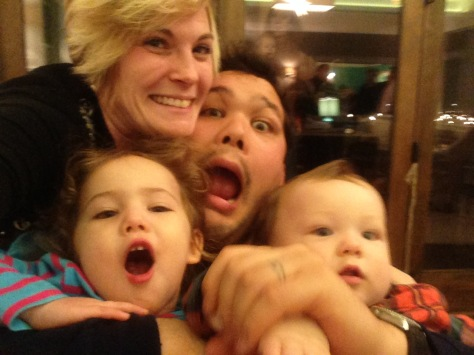 My crazy family that I love.
