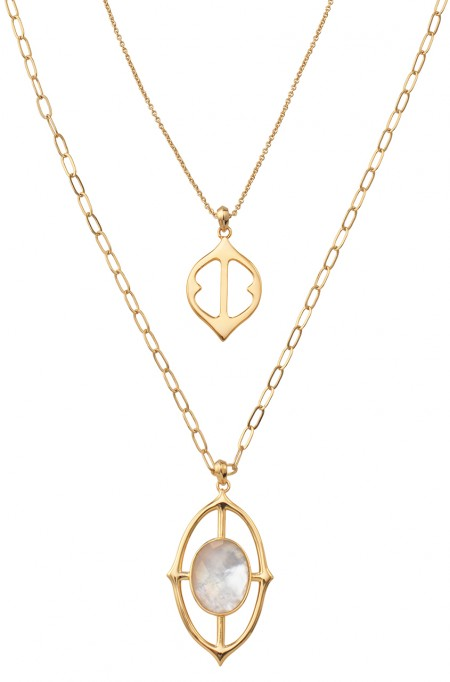 Fortuna Pendant, Gold - $79 retail