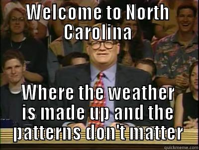 nc weather meme